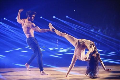 Meryl Davis Dancing With the Stars Foxtrot-Cha Cha Fusion Video 5/20/14 #DWTSFinale