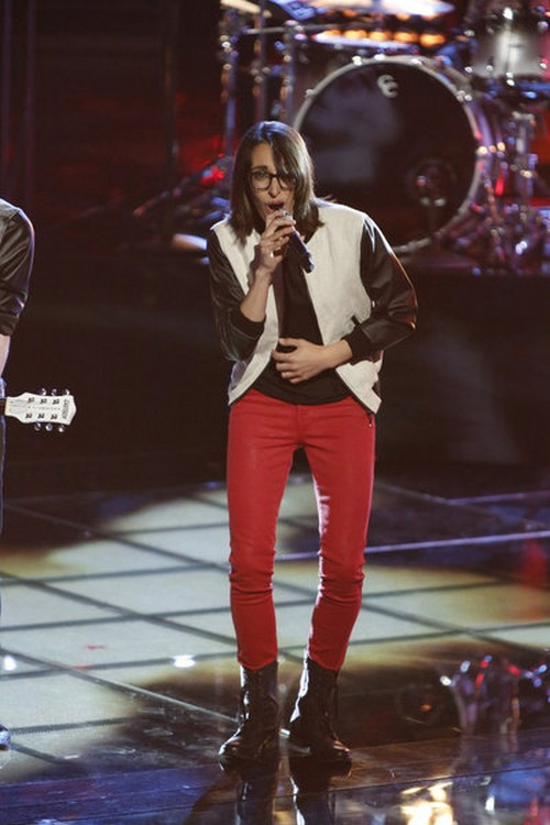 "Michelle Chamuel The Voice Finale ""I Knew You Were Trouble"" Video 6/17/13"