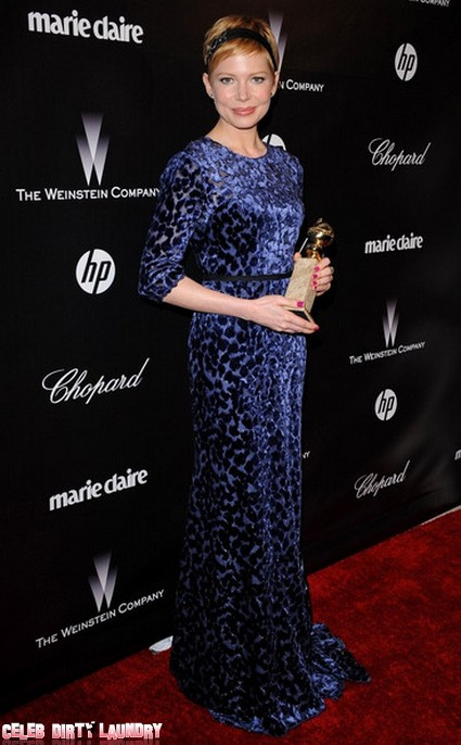 Michelle Williams Delivers A Heart-Warming Acceptance Speech At The Globes