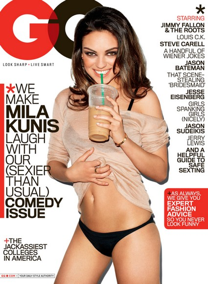 Mila Kunis In The Headlines Again – This Time For Looking Hot In GQ Magazine!