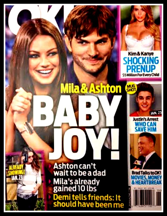 Mila Kunis Pregnant: Gained 10 Pounds In Baby Weight With Ashton Kutcher's Child (PHOTO)