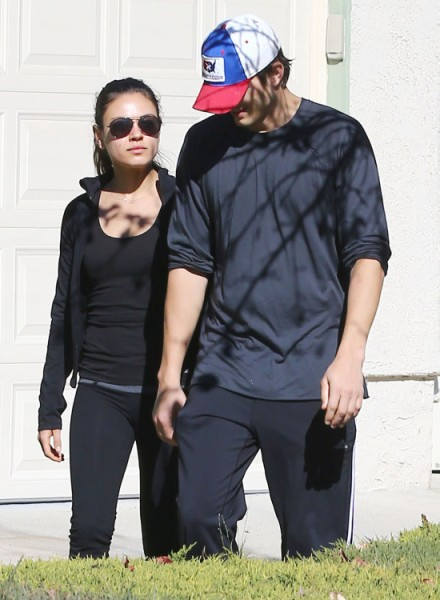 Mila Kunis' Friends Worried Ashton Kutcher Will Cheat On Her Like Demi Moore 0517