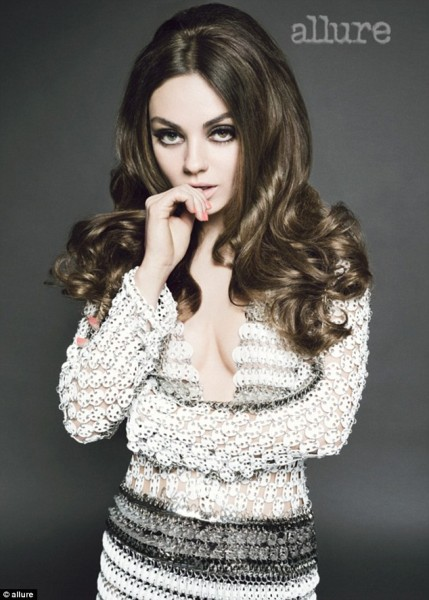 Mila Kunis Would Rather Be Naked Than Talk About Ashton Kutcher, Fifty Shades Of Grey Hint? 0212