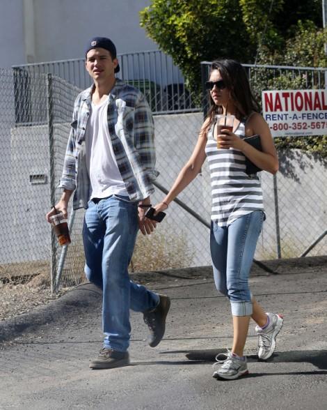 Is Mila Kunis Pregnant With Ashton Kutcher's Baby? (Photos) 1028