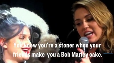 Miley Cyrus Admits She Smokes 'Way Too Much F***in' Weed' (Video)