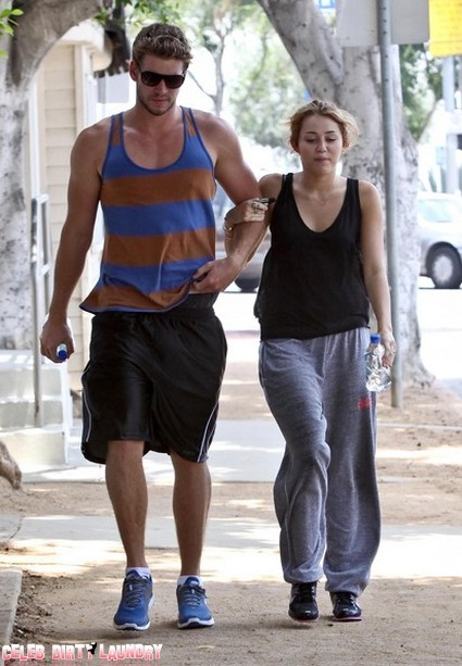 Miley Cyrus Buys An Adorable Puppy For Liam Hemsworth