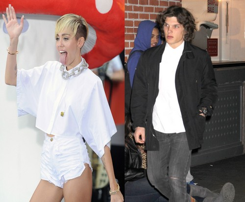 Miley Cyrus Dating Theo Wenner - Photographer Shot Miley's Topless Rolling Stone Cover