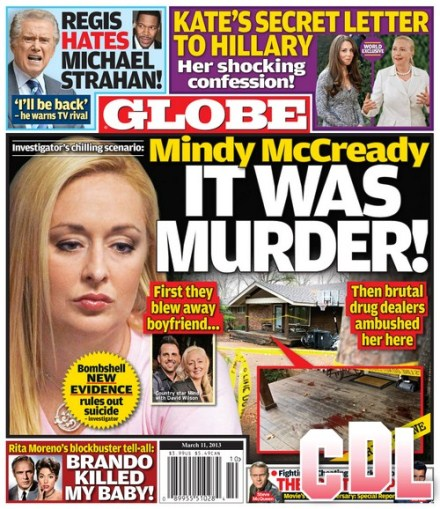 GLOBE: Mindy McCready - It Was Murder! (PHOTO)
