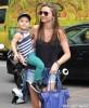 Miranda Kerr & Son Flynn Out Shopping In New York City