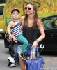 Miranda Kerr & Son Flynn Out Shopping In New York City