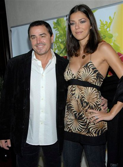 Adrianne Curry and Christopher Knight Separate