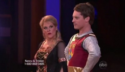 Nancy Grace's Dancing With The Stars Foxtrot Performance Video 10/24/11