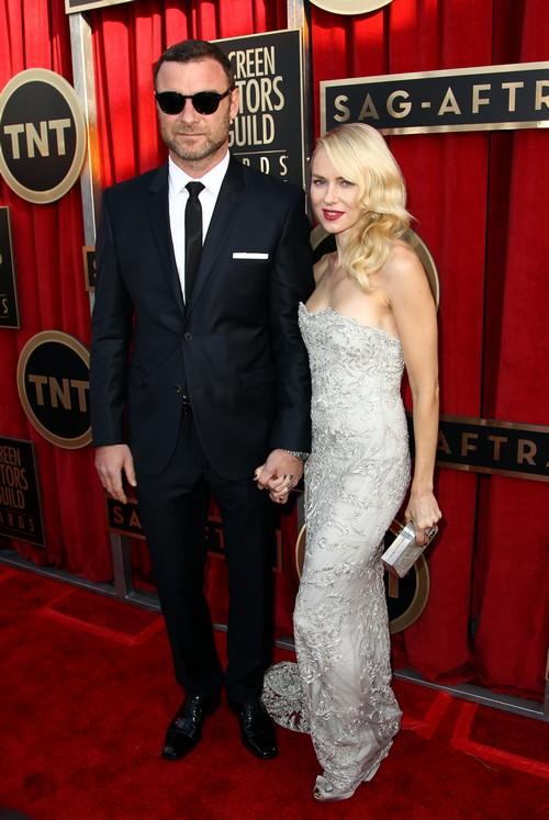 Naomi Watts  Liev Schreiber SAG Awards