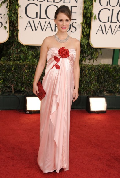 Natalie Portman At The 68th Annual Golden Globe Awards