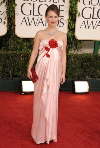 Natalie Portman At The 68th Annual Golden Globe Awards