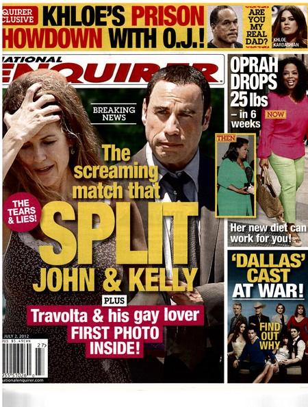 The Screaming Battle That Split Up John Travolta And Kelly Preston (Photo)