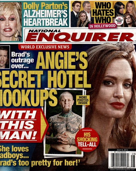 Angelina Jolie's Secret Hotel Hookups (Photo)