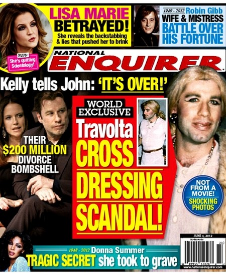 John Travolta Cross Dressing Scandal (Photo)