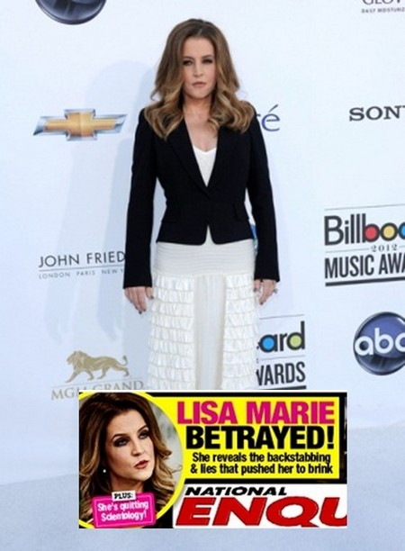 Lisa Marie Presley Quitting Scientology: Betrayed and Backstabbed!