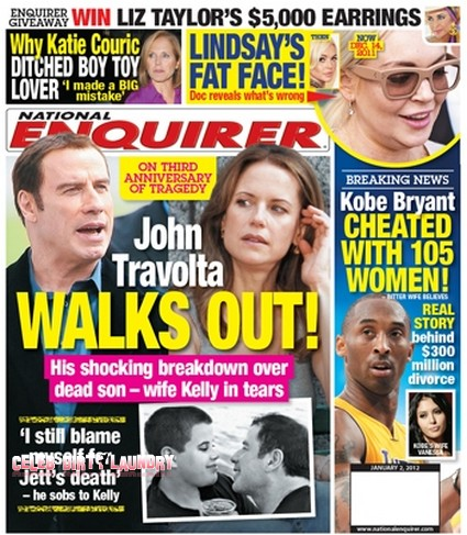 On The 3rd Anniversary of his Son's Death John Travolta Walks Out