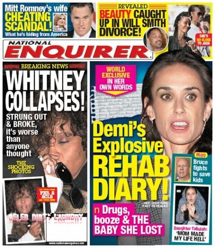 Demi Moore Rehab Diary Shocker (Photo)