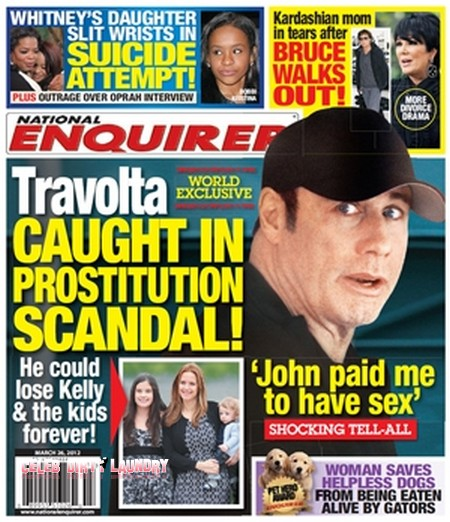 Prostitute Confirms That John Travolta Is Her Client (Photo)