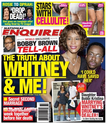 Bobby Brown Tells The Ugly Truth About Whitney Houston