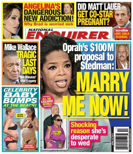 Oprah Winfrey Offers Stedman 100 Million Dollars To Marry Her (Photo)