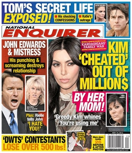 Kim Kardashian Cheated Out of Millions By Her Mom Kris Jenner! (Photo)