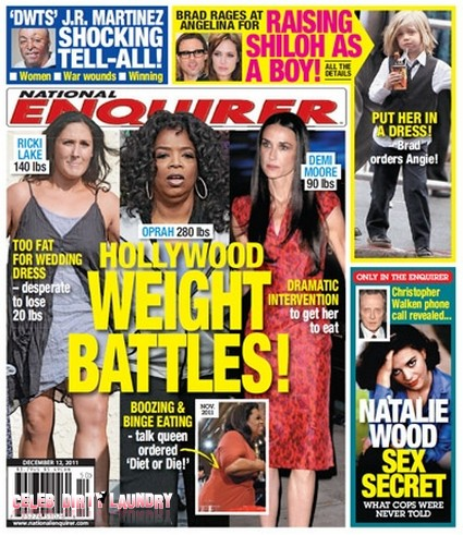 Oprah Ordered To Diet Or Die As She Boozes and Binges!