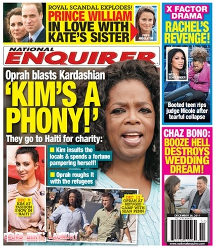 Oprah Winfrey Calls Kim Kardashian A Phony (Photo)
