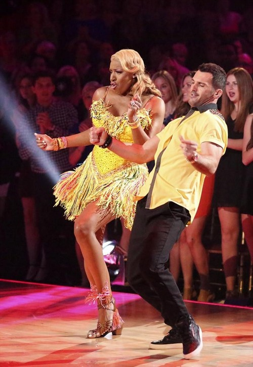 NeNe Leakes Dancing With the Stars Argentine Tango Video 4/28/14 #DWTS