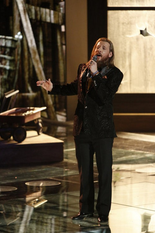 "Nicholas David The Voice Top 3 ""Lean On Me"" Video 12/17/12"