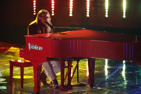 """Nicholas David The Voice Semifinals """"You Are So Beautiful"""" Video 12/10/12"""