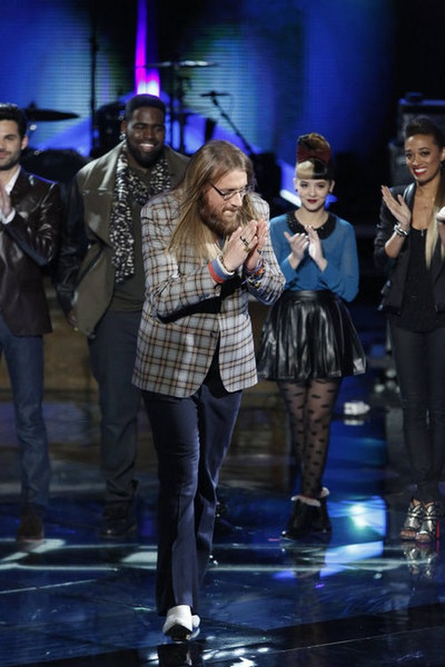 Nicholas David The Voice Top 8  Video 11/26/12