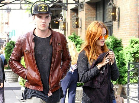 Nicholas Hoult and Riley Keough Date and Flirt in NYC, Jennifer Lawrence Brokenhearted?