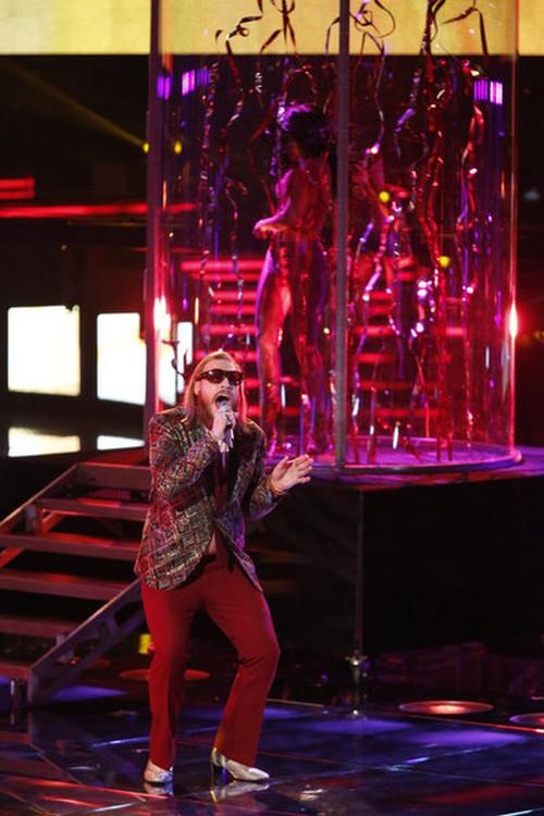 """Nicholas David and Smokey Robinson The Voice """"Cruisin"""" Video 12/18/12"""