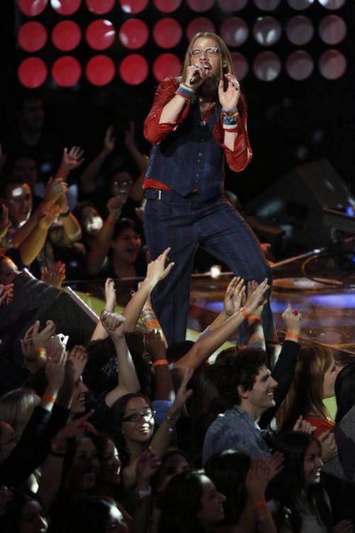 """Nicholas David The Voice Top 10 """"Lean on Me"""" Video 11/19/12"""