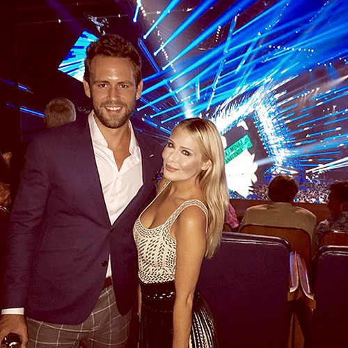 Nick Cummins is dating Lucy Steggles