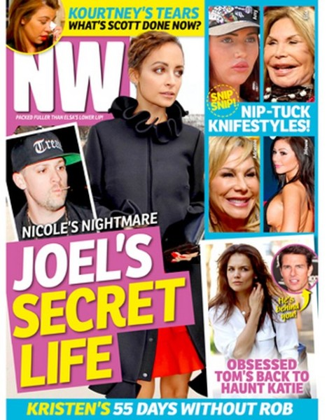 Nicole Richie Breaking Up With Joel Madden: She's Starving Herself Over Secret Life 0313