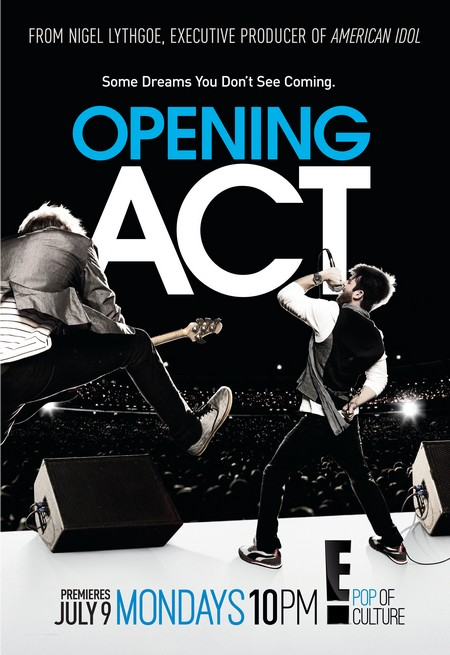 """CDL Giveaway: E!'s New Show  """"OPENING ACT"""" Poster & Headphones"""