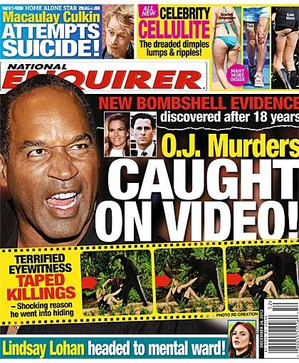 OJ Simpson Caught On Tape Committing Infamous Murders! 1212