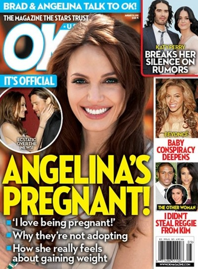 It's Official: Angelina Jolie Is Pregnant!