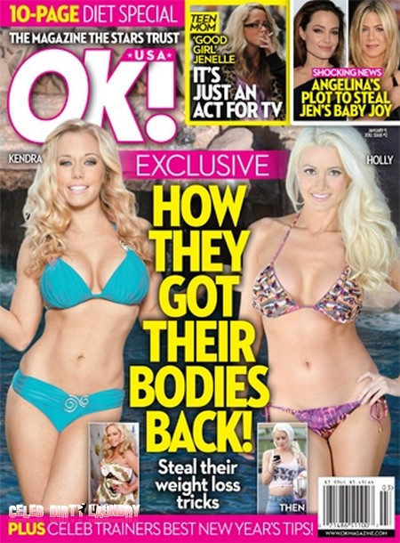 How Kendra Wilkinson-Baskett & Holly Madison Got Their Bodies Back (Photo)