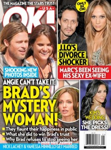 OK! Magazine: Brad Pitt's Mystery Woman!