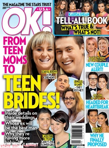 Leah Messer From Teen Mom To Teen Bride (Photo)