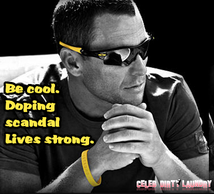 Champion Lance Armstrong Denies Doping His Way to Winner's Circle