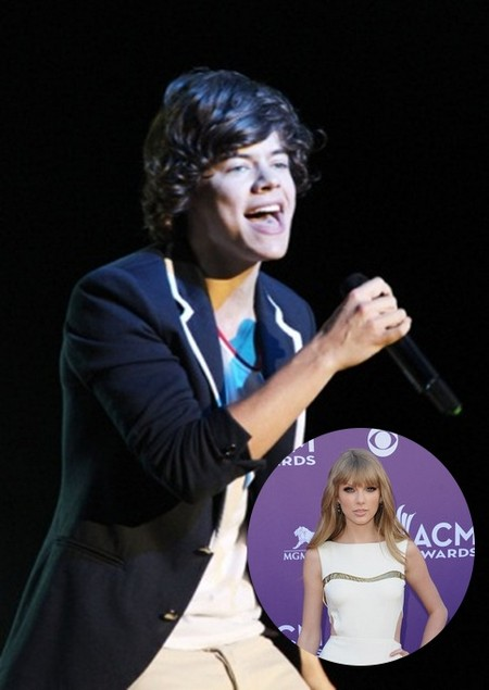 One Direction's Harry Styles Moves In On Taylor Swift