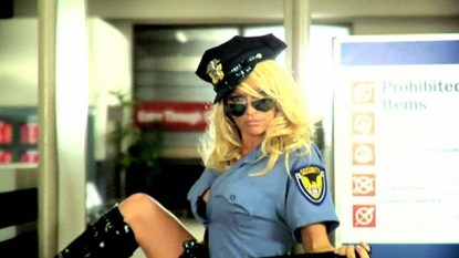 Pamela Anderson's Ad Banned - Too Hot For Airport