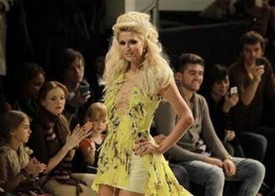 Paris Hilton Looks Amazing As She Walks The Runway In Ukraine (Photos)